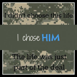 Military spouse/girl friend