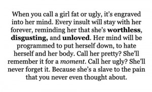quotes about ugly girls. quote, text, saying, girl,