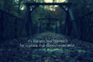 alien, homesick, outsider, quote, road, sad, strange