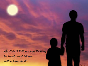 Father Memorial Quotes Father's day quote
