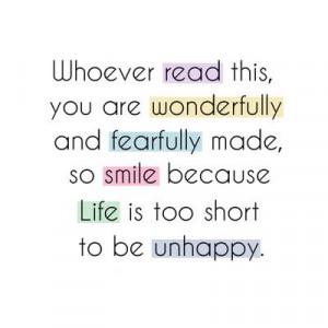 quotes be #HAPPY :)