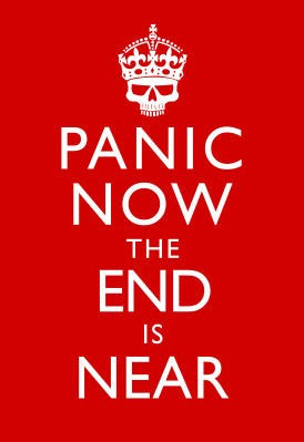panic-now-the-end-is-near-keep-calm-inspired-print-poster ...