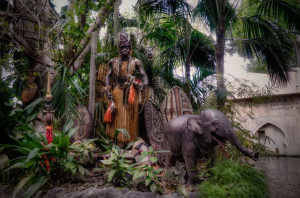 Trader Sam at the end of the World Famous Jungle Cruise Attraction in ...