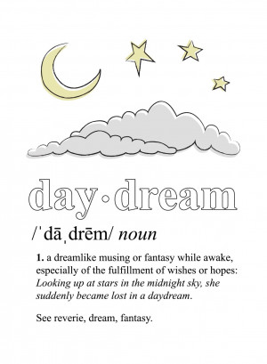 Free Daydream Printable by KV's Confessions