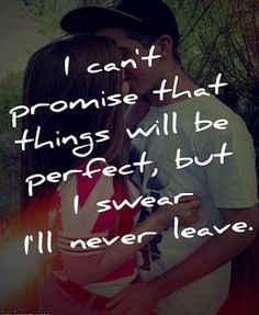 ... me!! Please don't you ever leave me!!! You make me feel special and