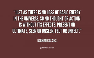 Norman Cousins Quotes Life...