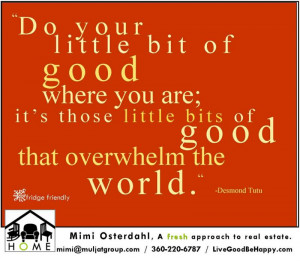Live Good Be Happy Quotes...
