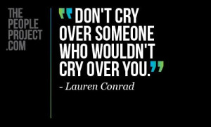 Don 39 t Cry Over Someone Quote