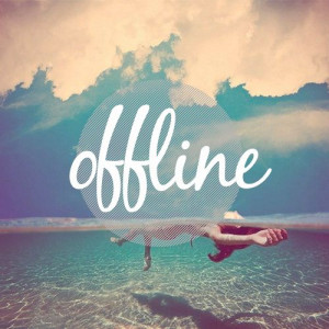 offline / unplug / disconnect. #quotes #typo