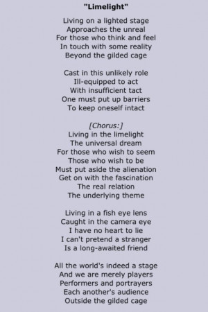 Rush Song Quotes Quotesgram
