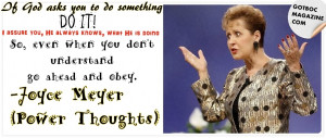 Joyce Meyer Quotes On Life , Joyce Meyer Quotes About Moving On