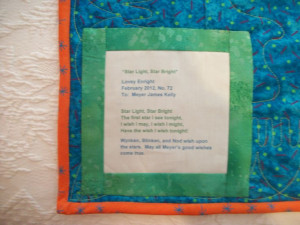 Quilt Label Sayings Graduation | Baby Quilt Label Sayings: Baby Quilt