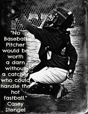 Baseball Catcher Quotes I love my catcher! - baseball quote. via ...