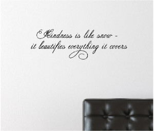 snow....Inspirational Snow Wall Quote Words Sayings Removable Snow ...