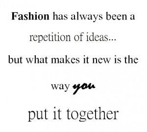 Famous Fashion Quotes Photo
