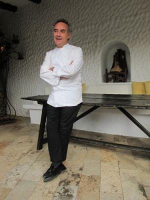 Ferran Adriá talks about the future of El Bulli
