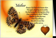 Get Well ~ Mother / Quote ~ Fractalius Butterfly / Heart card ...