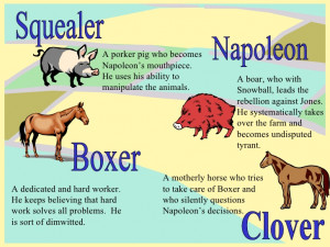 animal farm powerpoint intro animal farm squealor napoleon by ...
