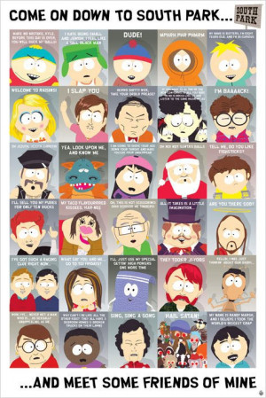 Poster South Park Quotes
