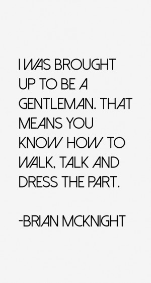 Brian McKnight Quotes & Sayings