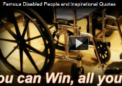 Famous Disabled People & Inspirational Quotes