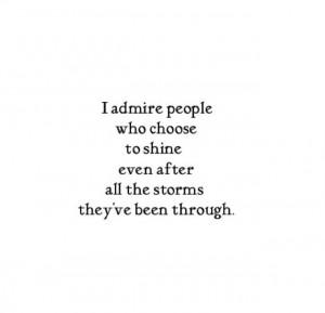 People I Admire Quotes