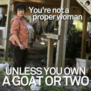 need a goat!