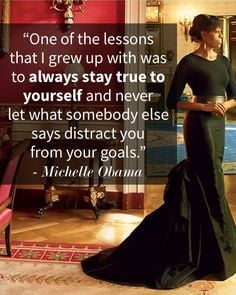 ... down our Friday with our favorite FLOTUS quotes! #inspiration #quotes