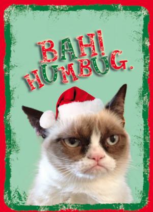 Grumpy Cat Christmas Bah Humbug