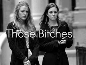 Those Bitches , Serena&,Blair | via Facebook