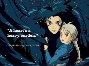 Howl's Moving Castle. I finally took the time to watch it and now it's ...