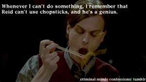 Criminal Minds Confessions- okay I can't use chopsticks either but ...