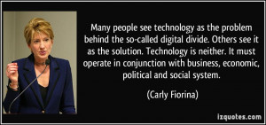 More Carly Fiorina Quotes