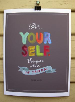 Oscar Wilde's quote