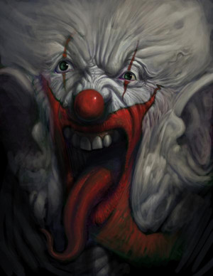 Scary Clown Pictures for Halloween