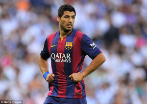 Luis Suarez deserves to be challenging Ronaldo for this year's Ballon ...