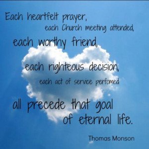 lds quote to live by