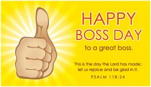 Happy Boss Day Ecard