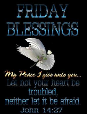 Friday's Blessings