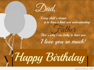 Happy Birthday Dad From Daughter Quotes Happy Birthday Dad Poems