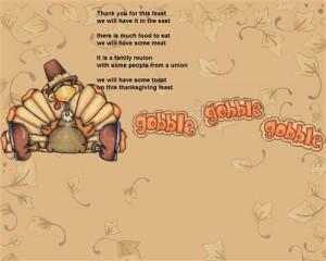 Famous Funny Thanksgiving Poems For Children