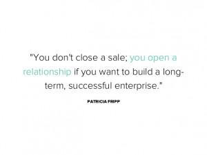Closing Sales Quotes You Dont Close a Sale