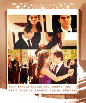 Quote from The Struggle ღ - damon-and-elena Fan Art
