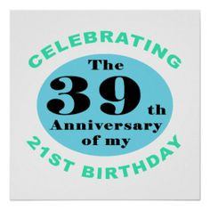 ... birthday'. Perfect for celebrating turning 60 years old! #60 #sixty