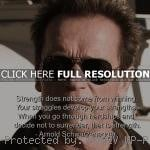 , life, quote arnold schwarzenegger, quotes, sayings, quote, strength ...