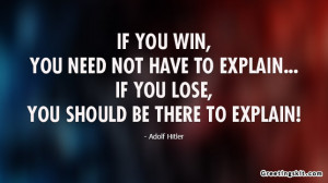 Adolf Hitler – Picture Quote