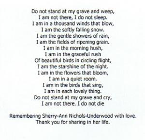 ... memorial poems memorial poem remember mom sister birthday poem cake