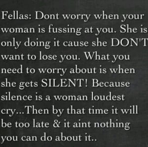When A Womans Fed Up Quotes When a woman's fed up.
