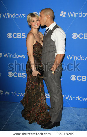 Los Angeles - Sep 18: Sarah Jones, Theo Rossi At The Cbs 2012 Fall ...