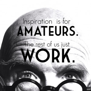 Amazing Quote by Chuck Close.